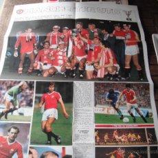 Coleccionismo deportivo: POSTER GUERIN SPORTIVO. MANCHESTER UTD.1983.. Lote 46426257
