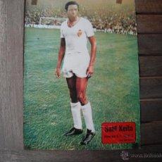 Coleccionismo deportivo: POSTER AS COLOR 1/2 PAGINA. SALIF KEITA (VALENCIA C.F.). 1973/74. Lote 46501363