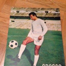 Coleccionismo deportivo: CARTEL POSTER FUTBOL GROSSO REAL MADRID. Lote 46994101