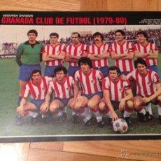 Coleccionismo deportivo: CARTEL POSTER FUTBOL AS COLOR 1979 1980 GRANADA. Lote 46994265