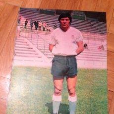 Coleccionismo deportivo: CARTEL POSTER FUTBOL AS COLOR CHINCHON RACING SANTANDER. Lote 47001090