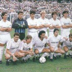 Coleccionismo deportivo: REAL MADRID: RECORTE DE UN EQUIPO DE LA TEMPORADA 89-90. Lote 47008665