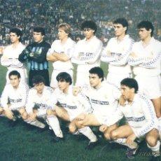 Coleccionismo deportivo: REAL MADRID: RECORTE DE LA TEMPORADA 89-90. Lote 47009201