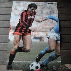 Coleccionismo deportivo: POSTER GUERIN SPORTIVO. FRANCO BARESI (A.C. MILAN AÑOS 80´). Lote 47025832