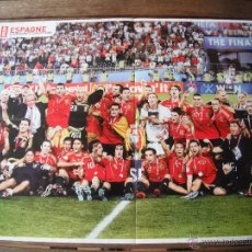 Coleccionismo deportivo: POSTER ONZE. ESPAÑA CAMPEONA DE EUROPA 2008. . Lote 47156721