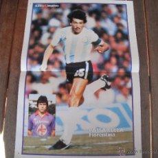 Coleccionismo deportivo: POSTER GUERIN SPORTIVO. PASARELLA (ARGENTINA Y FIORENTINA).1983.. Lote 47757710
