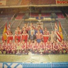 Coleccionismo deportivo: POSTER DEL ATLETICO DE MADRID 85/86. Lote 26686198