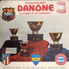 Coleccionismo deportivo: CARTEL II TROFEO JUAN GAMPER 1967- 68 FC BARCELONA CF BARCELONA BARÇA AT MADRID BOCA JUNIORS BAYERN. Lote 100293672