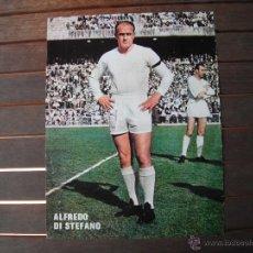 Coleccionismo deportivo: POSTER AS COLOR 1/2 PAGINA. ALFREDO DI STEFANO (REAL MADRID).. Lote 48933733