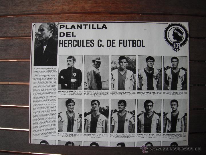Coleccionismo deportivo: POSTER AS COLOR Nº 34. HERCULES C.F. AÑOS 71-72. - Foto 2 - 48933824
