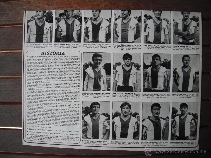 Coleccionismo deportivo: POSTER AS COLOR Nº 34. HERCULES C.F. AÑOS 71-72. - Foto 3 - 48933824