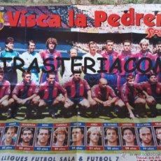 Coleccionismo deportivo: GRAN POSTER BARCELONA CLUB FUTBOL BARÇA 80/60 CM. . Lote 48991198