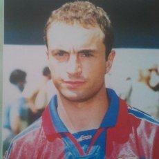 Coleccionismo deportivo: POSTER CUELLAR FC BARCELONA - SPORT 80 X 60 ESTRELLAS BLAUGRANA. Lote 219295168
