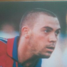 Coleccionismo deportivo: POSTER DE LA PEÑA FC BARCELONA - SPORT 80 X 60 ESTRELLAS BLAUGRANA. Lote 219295192