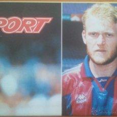 Coleccionismo deportivo: POSTER PROSINECKI FC BARCELONA - SPORT 80 X 60 ESTRELLAS BLAUGRANA. Lote 219295253
