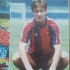 Coleccionismo deportivo: POSTER KODRO FC BARCELONA - ESTRELLAS BLAUGRANA SPORT 80 X 60. Lote 219295203