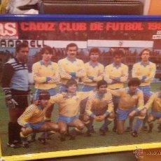Coleccionismo deportivo: CARTEL ASCENSO DEL CADIZ CLUB DE FUTBOL TEMPORADA 1984-85 - MEDIDA 70X50CM. Lote 49605953
