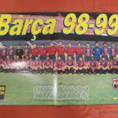 Coleccionismo deportivo: POSTER BARÇA 98-99. Lote 49750680