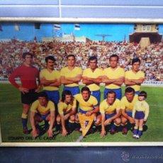 Coleccionismo deportivo: CUADRO CON POSTER DEL CADIZ C.F. AÑOS 70. CON CRISTAL.. Lote 50076234