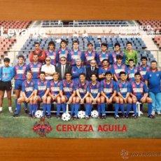 Coleccionismo deportivo: LEVANTE 89-90 - PÓSTER TAMAÑO 34 X 49. Lote 50387046