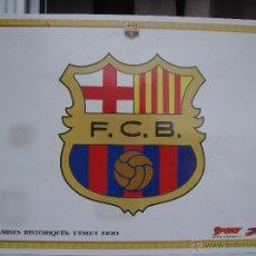 Coleccionismo deportivo: CARTEL / LÁMINA HISTÓRICA BARÇA / FC BARCELONA ** ESCUDO ACTUAL (AÑO 1900) **. Lote 50756290