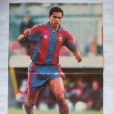 Colecionismo desportivo: POSTER GIOVANNI BARCELONA TEMPORADA 1996 1997 (TAMAÑO 30X42 CM APROX.) REVISTA DON BALON. Lote 50808644