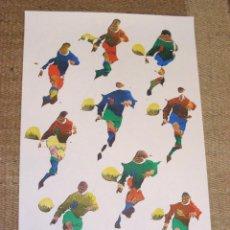 Coleccionismo deportivo: CARTEL ORIGINAL MUNDIAL ESPAÑA 82. SEDES: OVIEDO. Lote 104399840