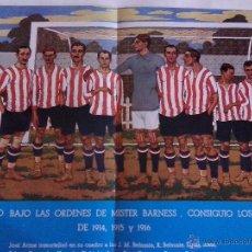Coleccionismo deportivo: CARTEL DE LA REVISTA Nº 0 ATHLETIC CLUB MUY BUEN ESTADO. Lote 51034873