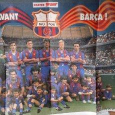 Coleccionismo deportivo: POSTER FC BARCELONA - DREAM TEAM - DIARIO SPORT - 1991. Lote 51430001