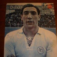 Collectionnisme sportif: REAL MADRID. CARTEL . FUTBOL. LAMINA POSTER AÑOS 40 DEL MARCA. ALONSO. Lote 51600952