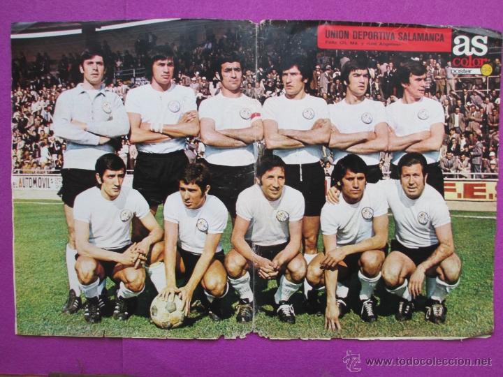 POSTER AS COLOR 94, FUTBOL, UNION DEPORTIVA SALAMANCA, Nº179 (Coleccionismo Deportivo - Carteles de Fútbol)