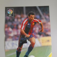 Coleccionismo deportivo: POSTER CARTEL HRISTO STOICHKOV. F.C. BARCELONA. TDKP5. Lote 180086768