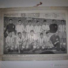 Coleccionismo deportivo: R.C.D. ESPAÑOL -1952-53- CARTEL PLANTILLA -MIDE 25 X 35 CM.- VER FOTOS -ARTIGAS,MARCET... (V- 3146). Lote 52032340