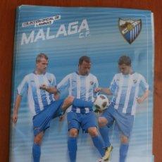 Coleccionismo deportivo: COLECCIÓN OFICIAL COMPLETA DE 33 LAMINAS MALAGA CLUB DE FUTBOL - CAMPEONATO NACIONAL LIGA 2010-2011. Lote 52585521