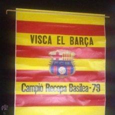 Coleccionismo deportivo: ESPECTACULAR POSTER CARTEL DE BASILEA 1979 VISCA CATALUNYA FUTBOL CLUB FC BARCELONA F.C BARÇA CF. Lote 52650461