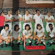 Coleccionismo deportivo: POSTER AS COLOR Nº 119. VALENCIA C.F. 1973-74. Lote 52846993