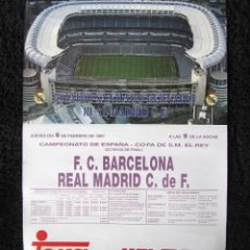 Sammelleidenschaft Sport - 3 Póster Real Madrid 1997: Copa del Rey (Barcelona) + Copa Europa (Oporto + Olympiacos) - 53004082