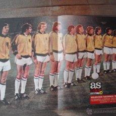 Coleccionismo deportivo: POSTER AS COLOR Nº 146. SELECCION NACIONAL DE HOLANDA. 1973-74. Lote 53033259