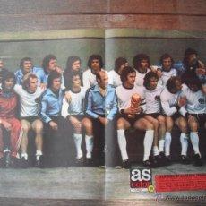 Coleccionismo deportivo: POSTER AS COLOR Nº 161. SELECCION DE ALEMANIA FEDERAL.-CAMPEONA DEL MUNDIAL 1974-. Lote 53033293