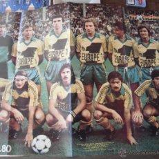 Coleccionismo deportivo: POSTER MONDIAL. F.C.NANTES 1979-80. AL DORSO PECOUT.. Lote 53033648