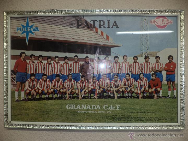 granada cf temporada 1972 / 1973.poster puleva - Comprar Carteles de ...