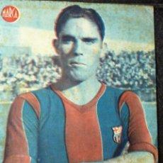 Coleccionismo deportivo: ANTIGUO CARTEL POSTER LAMINA MARTIN DELANTERO CENTRO FUTBOL CLUB BARCELONA BARÇA 32 / 23 CM . Lote 53516096