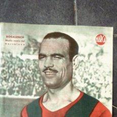Coleccionismo deportivo: ANTIGUO CARTEL POSTER LAMINA ROSALENCH , MEDIO CENTRO FUTBOL CLUB BARCELONA BARÇA 32 / 23 CM . Lote 53516131