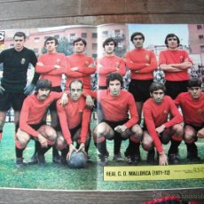 Coleccionismo deportivo: POSTER AS COLOR Nº 35. R.C.D.MALLORCA. AÑOS 1971-72. . Lote 54292355