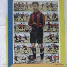 Coleccionismo deportivo: FC BARCELONA (BARÇA) *** ALCÁNTARA *** JUGADOR LEGENDARIO *** CARTEL CON MARCO ***. Lote 54354752