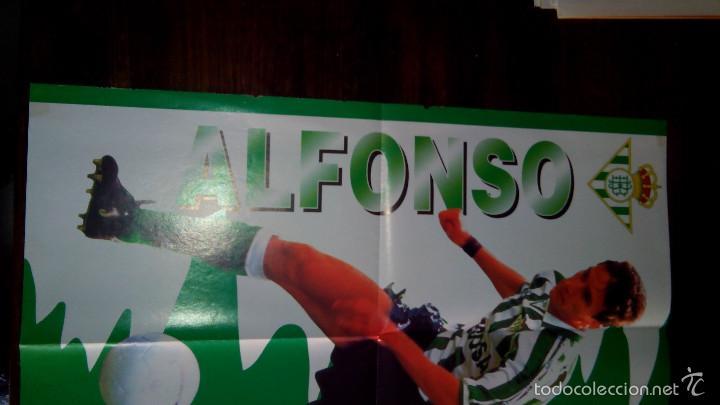 Coleccionismo deportivo: Posters futbol golosinas Vidal. Liga 96/97. Barcelona, Betis, Atletico, Ronaldo, Stochkov, Kiko... - Foto 17 - 55251189