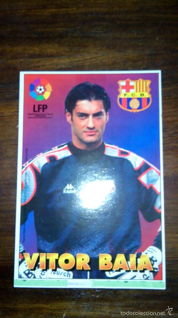 Coleccionismo deportivo: Posters futbol golosinas Vidal. Liga 96/97. Barcelona, Betis, Atletico, Ronaldo, Stochkov, Kiko... - Foto 25 - 55251189