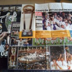 Coleccionismo deportivo: REAL MADRID GRAN CARTEL MARCA AS HOLA SÉPTIMA OCTAVA COPA EUROPA INTERCONTINENTAL CHAMPIONS LEAGUE.. Lote 55395364