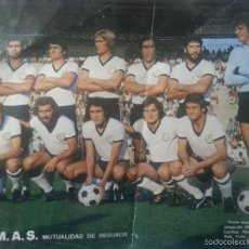 Coleccionismo deportivo: EXCELENTE POSTER DEL EQUIPO DE FUTBOL DE LA UDS. UNION DEPORTIVA SALAMANCA. 1975 - 76. 43 X 30 CM. Lote 56215074