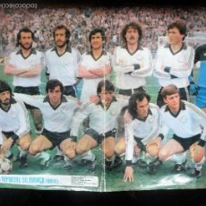 Coleccionismo deportivo: POSTER, UNION DEPORTIVA DE SALAMANCA LIGA 1980 -81 - AS COLOR. Lote 56570211